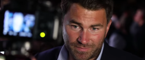 Eddie Hearn - Dillian Whyte's promoter Eddie Hearn is insisting that Tyson Fury vs. Deontay Wilder III should be canceled after learning that the fight could be moved to February 2021.