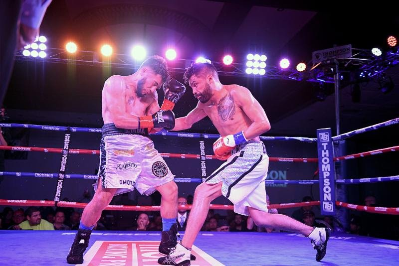 "Erick Ituarte - Featherweight Erick Ituarte (21-1-1, 3 KOs) dominated seasoned veteran Jose Estrella (20-16-1, 14 KOs) in the ""Locked n' Loaded"" main event Friday night from the Doubletree Hotel in Ontario, Calif."