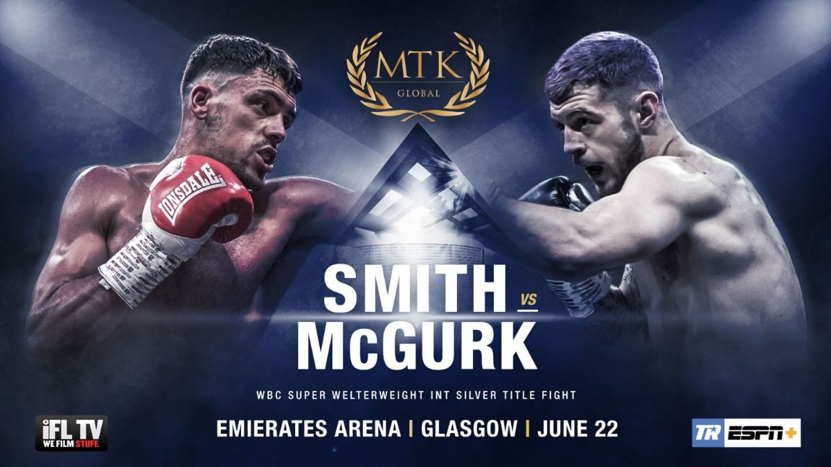 McGregor vs Allan Headline MTK Global Glasgow's June 22 ESPN+