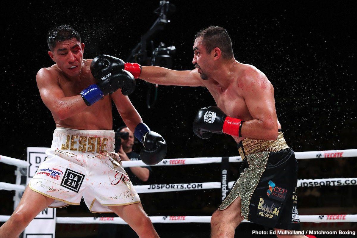 Andy Ruiz Anthony Joshua DAZN Devin Haney Jessie Vargas Liam Smith Zaur Abdullaev Boxing News