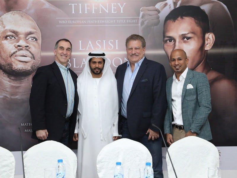 - The ground-breaking #DXBUncovered boxing event at Dubai's Emirates Golf Club has sold out 48 hours before Friday's opening bell.