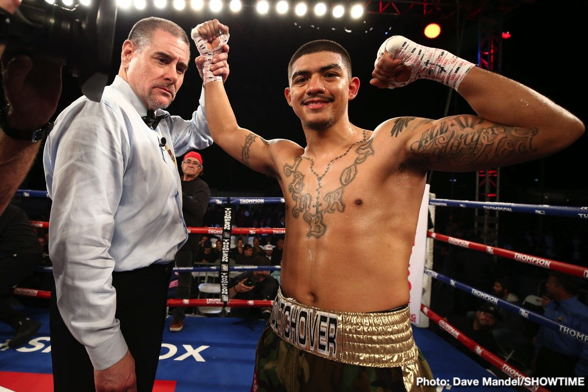 Michael Dutchover - Undefeated lightweight prospect Michael Dutchover returns to ShoBox: The New Generation seeking to make a statement win in his homecoming fight against Thomas Mattice in the 10-round main event of a three-fight telecast on Friday, September 20 live on SHOWTIME (10:30 p.m. ET/PT) from La Hacienda Event Center in Midland, Texas.