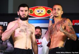 Artur Beterbiev, Jerwin Ancajas - Beterbiev vs Kalajdzic, Ancajas vs Funai, Flores Jr vs Pereira Reis LIVE on ESPN/ESPN Deportes at 10 pm - Undercard Streaming on ESPN+ at 6:30 pm ET/3:30 pm PT