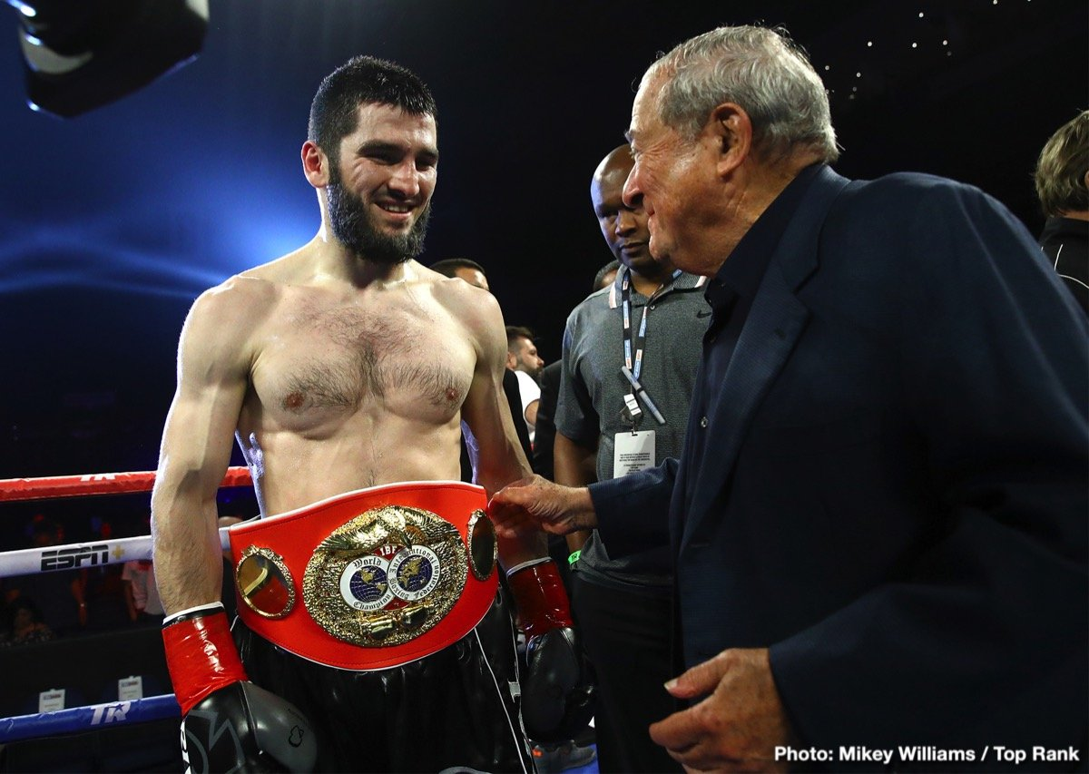 Artur Beterbiev, Meng Fanlong, Oleksandr Gvozdyk - Roc Nation Sports light heavyweight boxer Meng Fanlong (16-0, 10 KOs) dominated in his return to the ring Friday night by defeating Gilberto Rubio (9-9, 6 KOs) of Mexico by way of a second-round knockout. Fanlong now has his sights set on the IBF World Light Heavyweight Championship in early 2020.