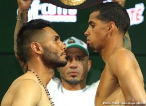 Alberto Machado - Weigh in results from Fantasy Springs Resort Casino