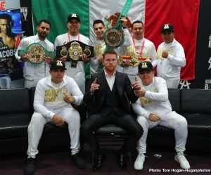 Canelo Alvarez - While Canelo Alvarez, the biggest star in boxing today, will likely sit out the rest of the year, he will not be idle. Instead, with Canelo issuing a lawsuit against Oscar De La Hoya/Golden Boy and DAZN, a good deal of the Mexican star's time is likely to be used up with meetings and court appearances and the like.