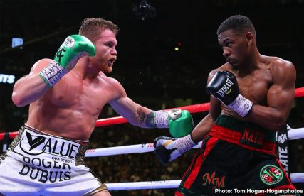 "Daniel Jacobs Saul ""Canelo"" Alvarez Boxing News Top Stories Boxing"