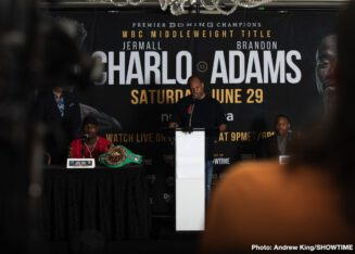 Brandon Adams, Jermall Charlo - Boxing News