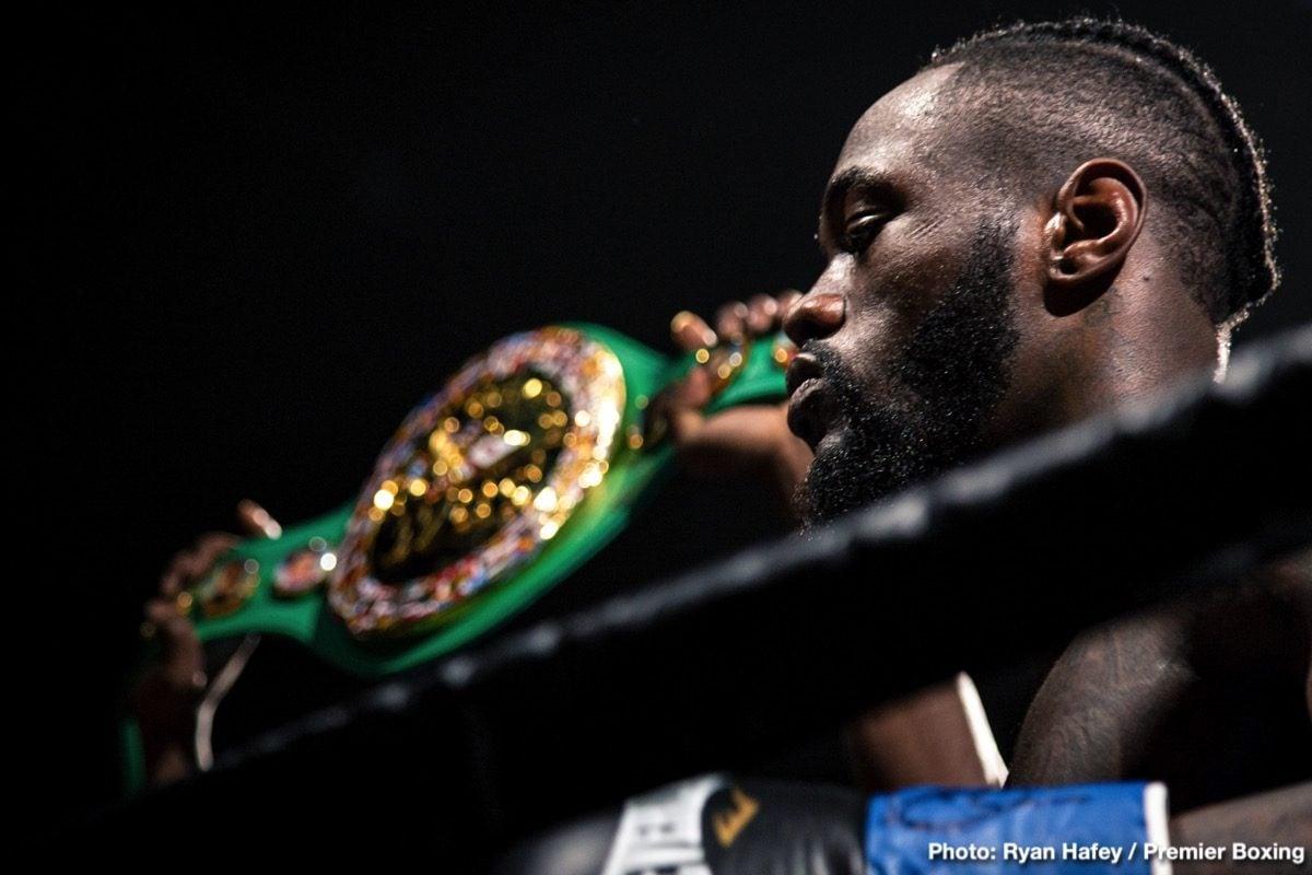 Deontay Wilder, Dillian Whyte, Mauricio Sulaimán, WBC - Boxing News