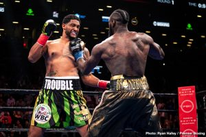 """Dominic Breazeale - Despite being blown away by Deontay Wilder in May of last year, Dominic Breazeale is not shying away from the big fights. """"Trouble,"""" as the twice beaten Breazeale is known, has been in with two world champs in Wilder and Anthony Joshua, and now the 34 year old is plotting his next move; some 10 months on from his last fight."""