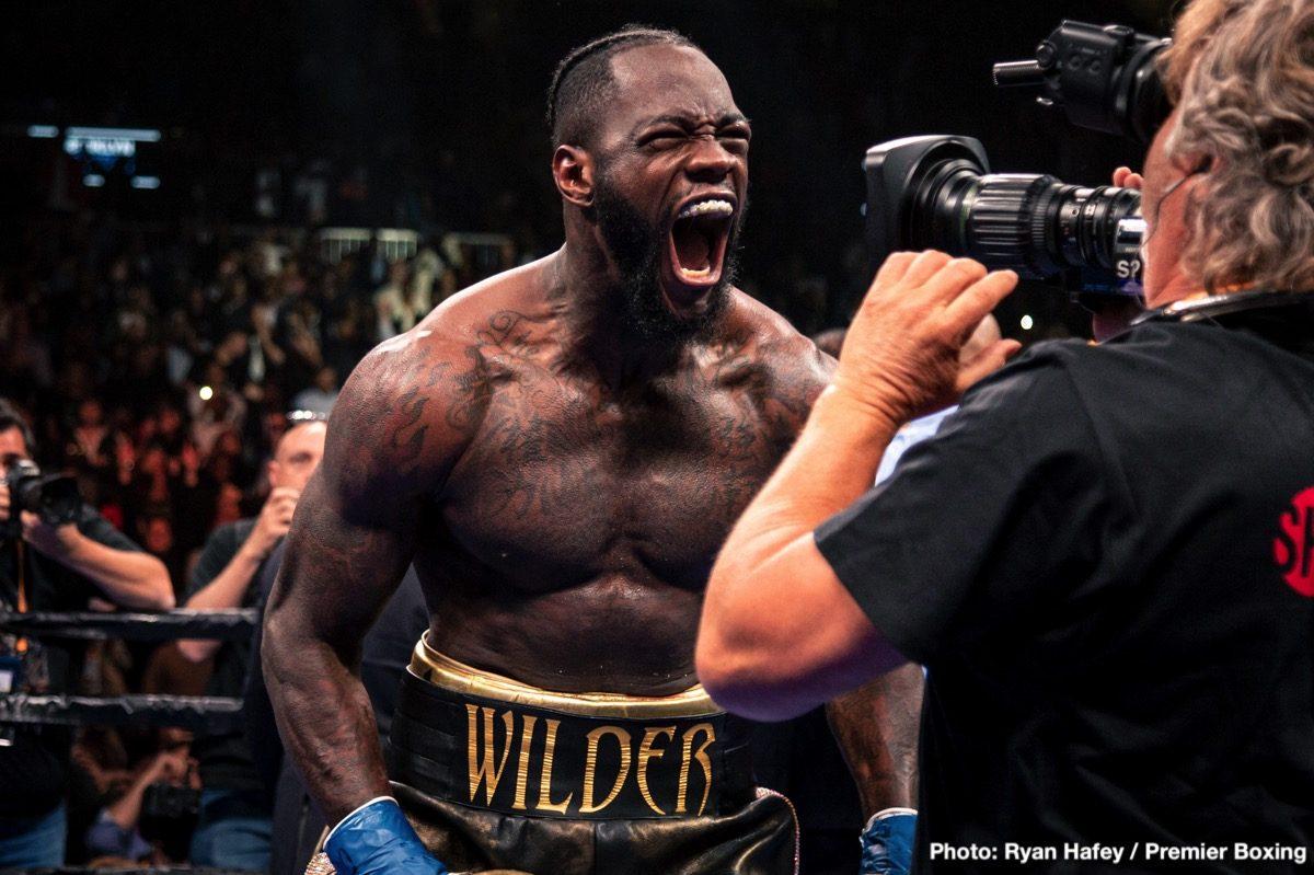 Deontay Wilder Eddie Hearn Luis Ortiz Tyson Fury Boxing News