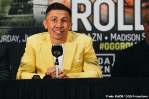 Gennady Golovkin - Gennady Golovkin is planning on winning decisively against obscure contender Steve Rolls on June 8 to ensure that he can get the trilogy fight against Saul Canelo Alvarez that he so badly wants. Canelo (52-1-2, 35 KOs) hasn't made it clear if he'll fight GGG in September, though most boxing fans expect him to do that.