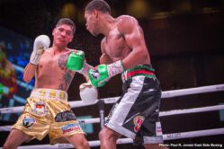 """Devin Haney - When Oleksandr Usyk bowed out the fight three weeks ago, it seemed this card was going to fade into mediocrity.  However, with one glaring exception, no fight on this card was a bore, and headliner Devin """"The Dream"""" Haney certainly took advantage his new headliner status to showcase his talents."""