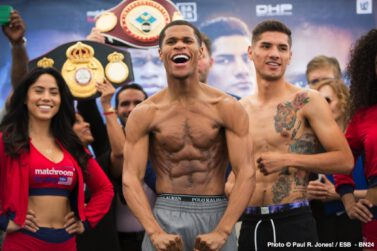 Devin Haney - By Paul R. Jones!  OXON HILL, MARYLAND – There are contenders, and then there are can't-miss contenders. Lightweight Devin 'The Dream' Haney (21-0, 13 KOs) certainly qualifies as the latter.