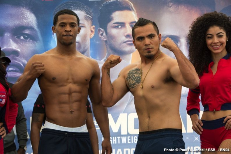 Antonio Moran Devin Haney Boxing News