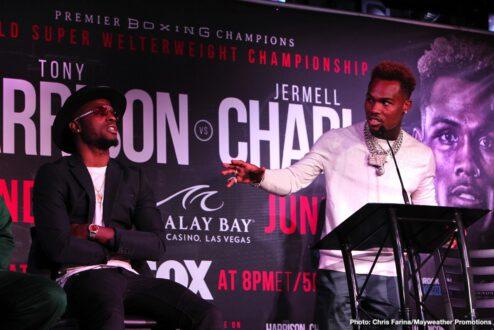 Jermell Charlo, Tony Harrison - Boxing News