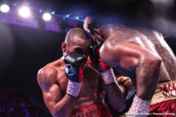 "Julian ""J-Rock"" Williams, Mario Barrios, Matt Korobov - IBF/WBA junior middleweight champion Jarrett Hurd (23-1, 16 KOs) tasted defeat for the first time in his seven-year pro career on Saturday night in losing to Julian ""J-Rock"" Williams (27-1-1, 16 KOs) by a 12 round unanimous decision at the EagleBank Arena in Fairfax, Virginia."
