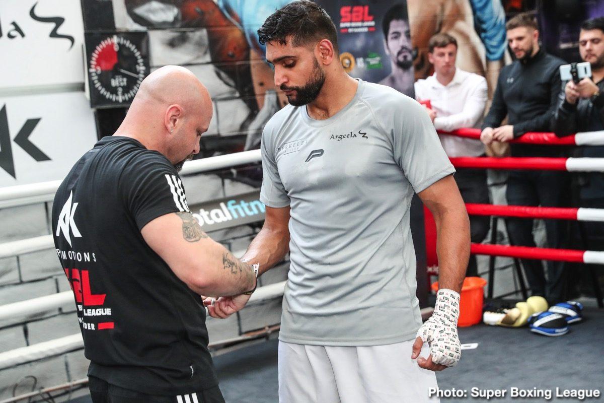 Amir Khan Manny Pacquiao Boxing News British Boxing