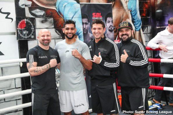 Amir Khan Boxing News British Boxing