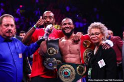 "Jarrett Hurd, Julian ""J-Rock"" Williams, Mario Barrios, Matt Korobov - Julian ""J-Rock'' Williams knew he was walking into the lion's den when he traveled from Philadelphia to Virginia to face undefeated unified super welterweight champion ""Swift"" Jarrett Hurd in his backyard. But Williams (27-1-1, 16 KOs) wasn't afraid."