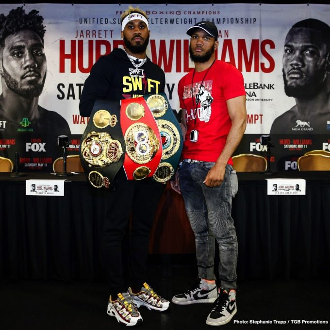 Jarrett Hurd And Julian 'J-Rock' Williams Final Quotes For