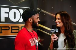 """Jarrett Hurd, Julian """"J-Rock"""" Williams, Mario Barrios, Matt Korobov - Unified 154-pound world champion """"Swift"""" Jarrett Hurd and top contender Julian """"J-Rock"""" Williams previewed their showdown at a final press conference on Thursday evening before they headline Premier Boxing Champions on FOX and FOX Deportes this Saturday night from EagleBank Arena in Fairfax, Virginia."""
