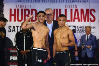 """Jarrett Hurd, Julian """"J-Rock"""" Williams - Boxing News"""