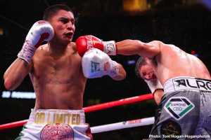 """Vergil Ortiz Jr. - Rising knockout artist Vergil Ortiz Jr. (13-0, 13 KOs) will return to his hometown of Grand Prairie, Texas to face former world title challenger Antonio """"Relentless"""" Orozco (28-1, 17 KOs) in a 10-round main event in the welterweight division. The card will be utterly stacked with Golden Boy prospects and contenders, most of whom are from the Lone Star State. The event will take place on Saturday, Aug. 10 at The Theatre at Grand Prairie in Texas and will be streamed live on DAZN."""