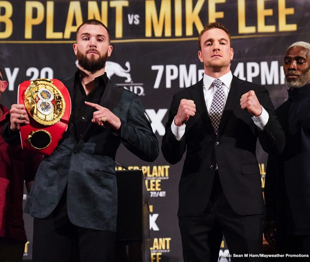 Caleb Plant Mike Lee Press Room