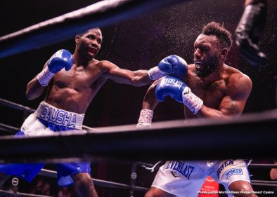 Austin Trout Terrell Gausha Boxing News Boxing Results