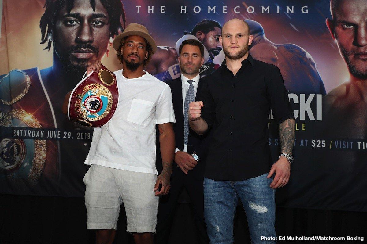 Demetrius Andrade Maciej Sulecki Boxing News