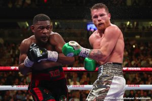 """Canelo Alvarez - Danny Jacobs must first get through tomorrow's very real grudge-match of a fight with Gabriel Rosado (these two really do seem to hate each other!), but """"The Miracle Man"""" is looking at bigger fights. The former middleweight titlist spoke with RingTV.com and he said he feels he can achieve plenty up at super-middleweight. Jacobs, 36-3(30) wants to win a world title at 168, while he says he is """"following Canelo too."""""""