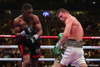"Daniel Jacobs Saul ""Canelo"" Alvarez Boxing News Boxing Results Top Stories Boxing"