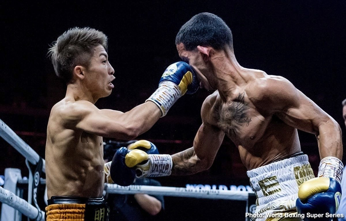 Naoya Inoue - Undefeated IBF/WBA bantamweight champion Naoya Inoue (18-0, 16 KOs) could be signing with Top Rank promotions after he completes competing in the World Boxing Super series 118-pound tournament. Inoue, 26, has a fight coming up against WBA Super World bantamweight champion Nonito Donaire (40-5, 26 KOs) in the final of the tourney. Once that's over, Inoue could be inking with Top Rank.