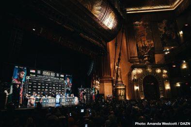 Andy Ruiz Jr Anthony Joshua Boxing News Top Stories Boxing