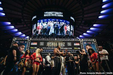 Andy Ruiz Jr Anthony Joshua Callum Smith Hassan N'Dam Josh Kelly Joshua Buatsi Ray Robinson Boxing News
