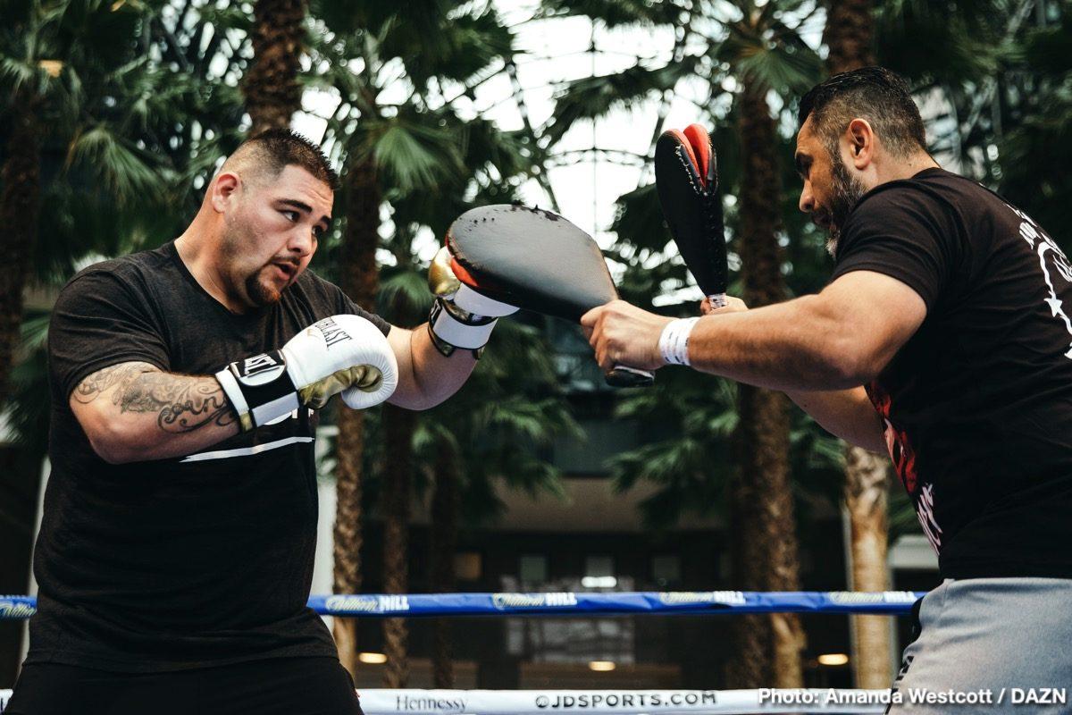 Andy Ruiz Jr Anthony Joshua Tyson Fury Boxing News