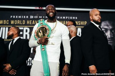 Deontay Wilder Dominic Breazeale Gary Russell Jr. Kiko Martinez Boxing News Top Stories Boxing