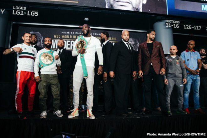 Deontay Wilder, Dominic Breazeale, Gary Russell Jr., Kiko Martinez - Boxing News
