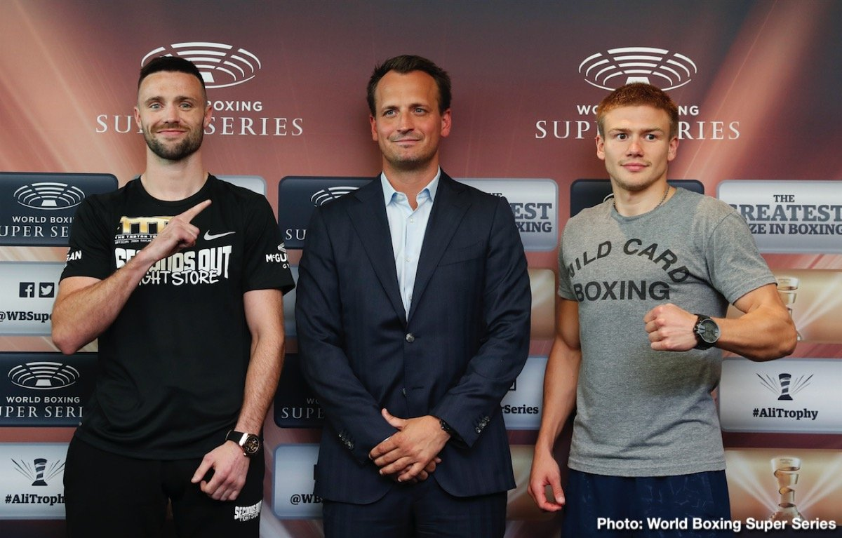 Ivan Baranchyk - IBF Champion Ivan Baranchyk is motivated by fighting in Josh Taylor's backyard in the WBSS super-lightweight semi-final on Saturday at The SSE Hydro in Glasgow, Scotland.