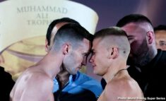 Ivan Baranchyk, Josh Taylor, Naoya Inoue - IT'S ON! Taylor-Baranchyk & Inoue-Rodriguez all make weight in Glasgow - Josh Taylor & Ivan Baranchyk and Naoya Inoue & Emmanuel Rodriguez are ready for their hotly anticipated WBSS Semi-Finals and World Title bouts tomorrow at The SSE Hydro in Glasgow, Scotland.