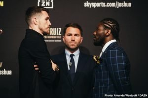 Joshua Buatsi - Eddie Hearn, Matchroom Boxing Managing Director: