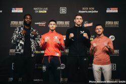 Callum Smith, Chris Algieri, Hassan N'Dam, Joshua Buatsi, Katie Taylor, Tommy Coyle - Eddie Hearn, Matchroom Boxing Managing Director: