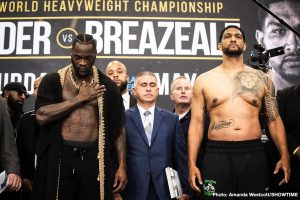 Dominic Breazeale - SHOWTIME Sports will present live streaming coverage of fight week events as WBC Heavyweight Champion Deontay Wilder defends his title for the ninth time against mandatory challenger Dominic Breazeale.