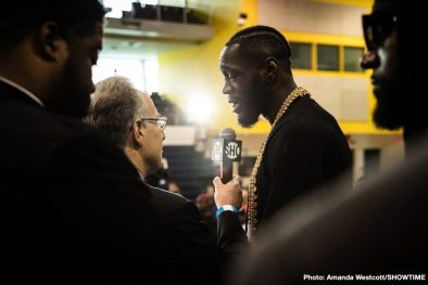 Deontay Wilder Dominic Breazeale Garry Russell Jr. Kiko Martinez Boxing News Top Stories Boxing