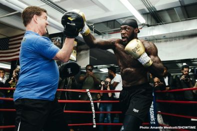 Deontay Wilder Dominic Breazeale Boxing News