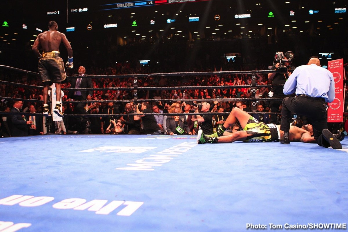Deontay Wilder Dominic Breazeale Garry Russell Jr. Kiko Martinez Boxing News Boxing Results Top Stories Boxing