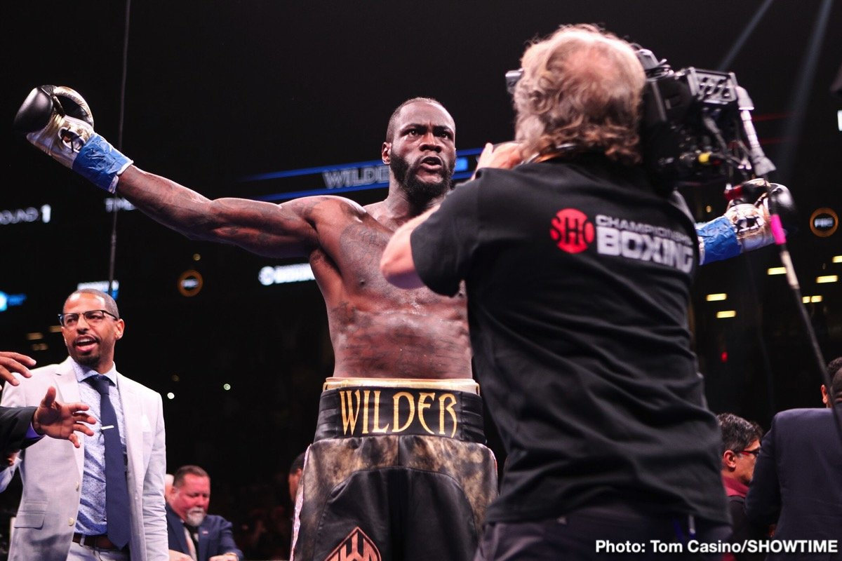Deontay Wilder Boxing News Top Stories Boxing