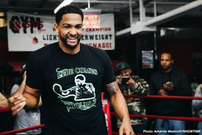 Deontay Wilder Dominic Breazeale Gary Russell Jr. Boxing News