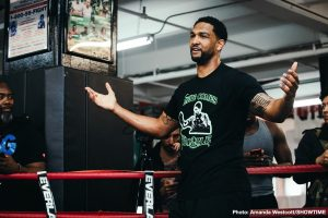 "Dominic Breazeale - While a good number of people are up in arms over WBC heavyweight champ Deontay Wilder's latest tasteless, ""I want a body on my record,"" quotes, and his repeated statements regarding how his challenger on Saturday, Dominic Breazeale, is literally risking his life by facing him in the ring, Breazeale himself has shown zero signs of being intimidated."